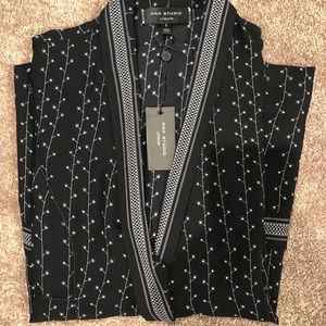 Max studio black blouse